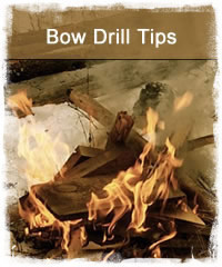 Best tips to starting a fire with a bow drill